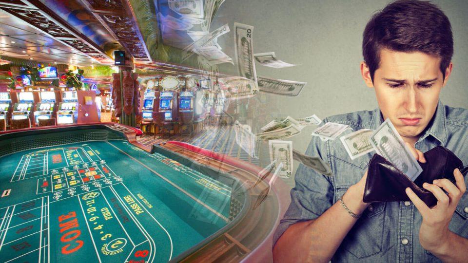 lose money at casino